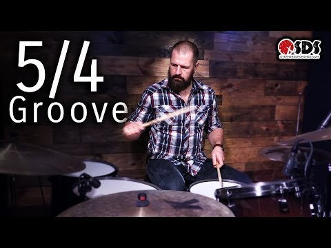 LEARN A 5/4 DRUM BEAT IN 30 SECONDS | DRUM LESSON | STEPHEN TAYLOR