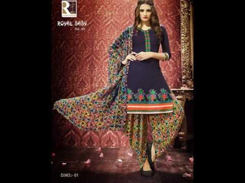Royal baby vol 2 | Patiyala dresses |  Surat textile Bazaar