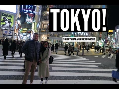 JAPAN 2017 │DAY 6 One day in Tokyo! Shin-Osaka, Shinkansen, MOUNT FUJI, Kabukicho, Shibuya.