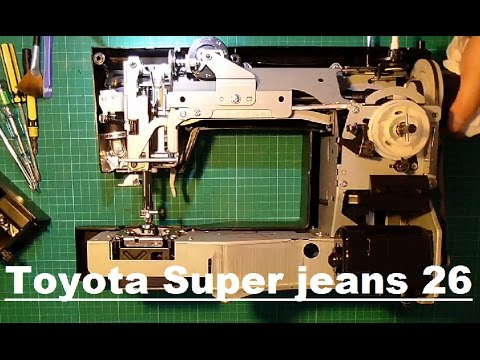 toyota super jeans 26 disassembly