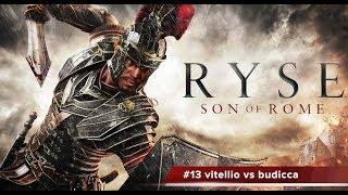 ryse: son of rome gameplay 13 Vitellio vs budicca