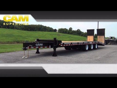 20 & 25 Ton HD Deckover Construction Trailers