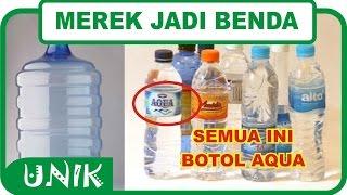 5 MEREK JADI NAMA BENDA HANYA DI INDONESIA