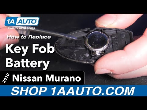 How to Replace Key Fob battery 09-14 Nissan Murano