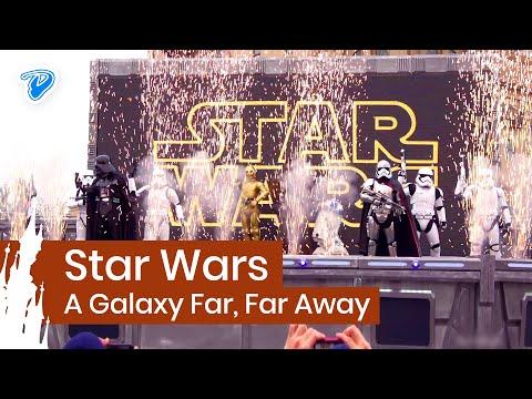 Star Wars: A Galaxy Far Far Away Disneyland Paris FULL SHOW 4K Season of the Force