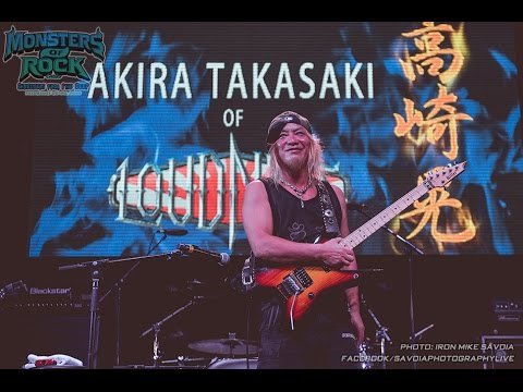 Akira Takasaki - Monsters of Rock Cruise Shredders Guitar Clinic - Bahamas 2.25.16