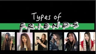 Types of Friends | Browngirlproblems1