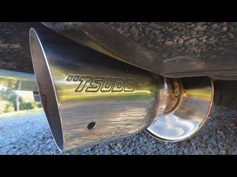 Tsudo EVO2 Catback Exhaust Rev and Review for the 2003-2007 Honda Accord Coupe V6
