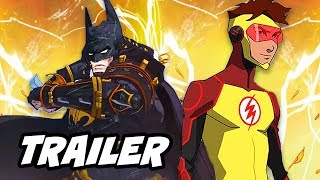 Batman Ninja Anime Trailer and Young Justice Season 3