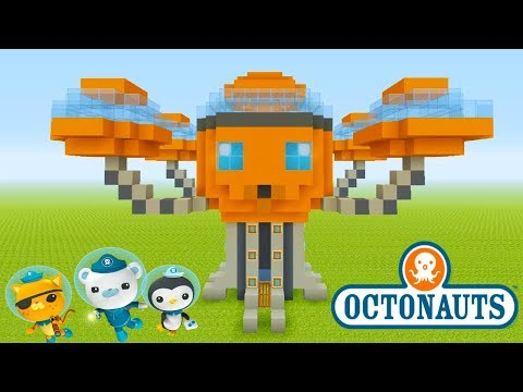 Minecraft Tutorial: How To Make The Octopod from The Octonauts