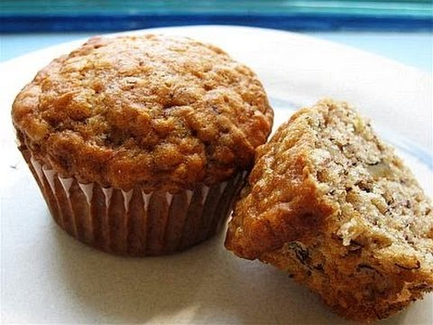 High-Protein Bodybuilding Banana Oat Muffins