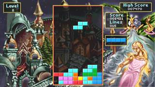 Tetris Classic Game Sample - PC/DOS