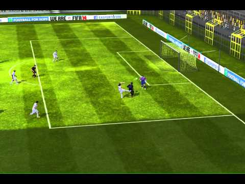 FIFA 14 iPhone/iPad - Romario FC vs. Real Madrid