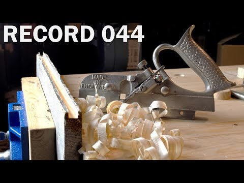 HAND TOOL HANGOUT - Ep.1 - Record 044 Plough Plane