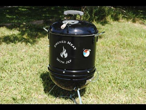 How To Build Your Own Mini Smoker Weber Smokey Mountain