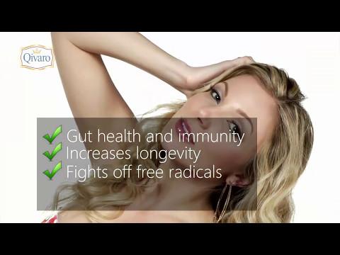 Superfood Supplement Qivaro Natural Organic Ingredients, Vitamin, Fiber, Energy, Bowel Health Immune
