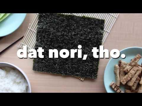 Vegan Sushi Recipe -