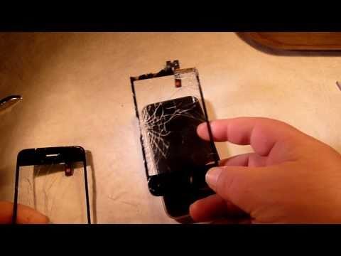 tuto changement vitre tactile iphone 3G 3GS 1/3