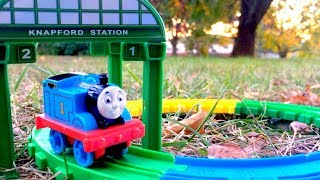 Thomas and Friends Thomas at Knapford Station Fisher Price Playset Unboxing Fun Toy Video for Kids!