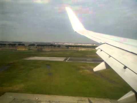 Atterraggio aeroporto Pisa... 11/03/2011