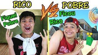 RICO VS POBRE NA ESCOLA #12 - O POBRE FICOU RICO !!!
