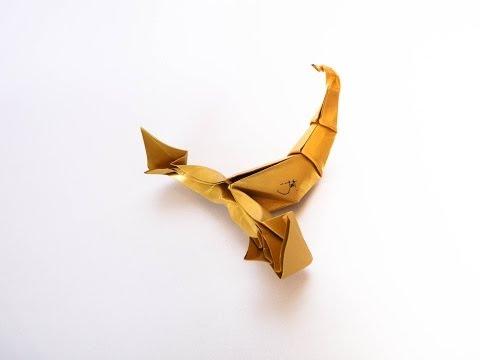 origami scorpion (Jozsef Zsebe)