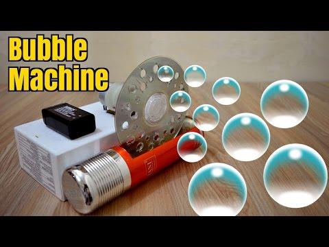 How to Make a Bubble Machine - Homemade