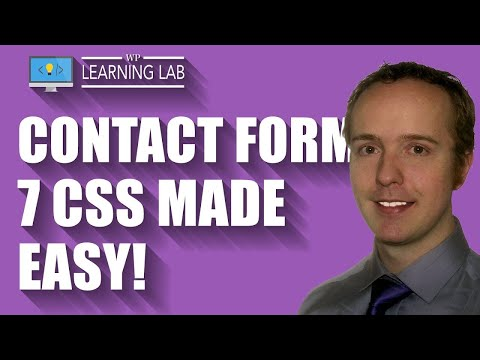 Contact Form 7 CSS to Style CF7 Submit Button, Inputs, Fields and Dropdown | CF7 Tuts Part 2