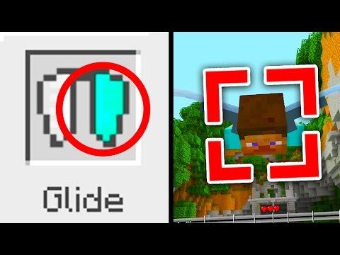 Minecraft Xbox/PS4: 5 HIDDEN SECRETS IN GLIDE MINI GAME! (TU51 Minecraft Console Update)