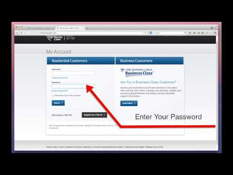 How to Pay Time Warner Cable Bills Online through - TWC.com/Myservices