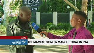 #ZUMAMUSTGONOW march today in PTA