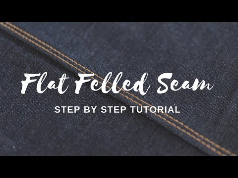 How to Sew a Flat Felled Seam Video