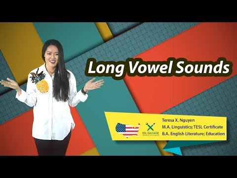 🔹English Pronunciation Explained: Introduction to long vowels🇺🇸