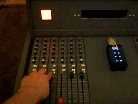 Radio Broadcast Mischpult Soundcraft SAC100 mit mAirList Interface und Cartwall