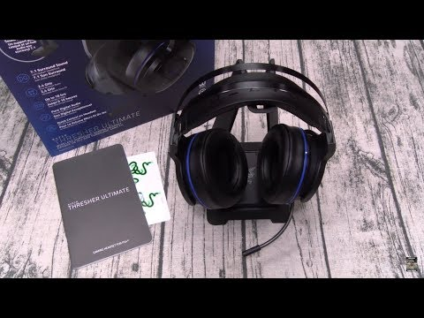 Razer Thresher Ultimate - Wireless Gaming Headset - 7.1 Surround Sound with Retractable Microphone