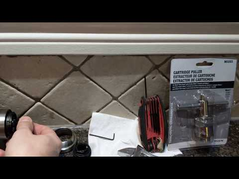Change Moen Motionsense 1255 cartridge in a minute yourself for free
