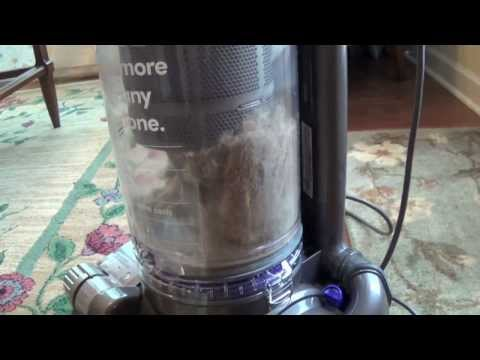 Dyson DC 33 vacuum - first time use & review of performance