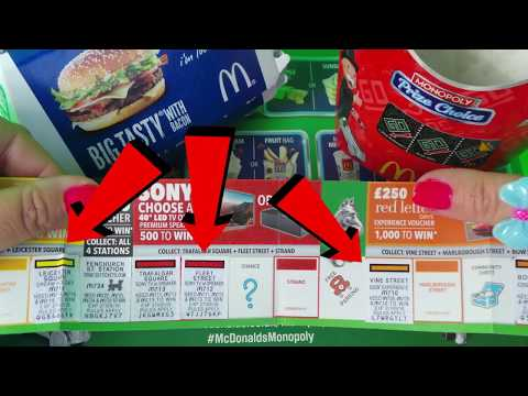 How to win McDonalds Monopoly