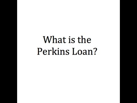 What is the Perkins Loan?