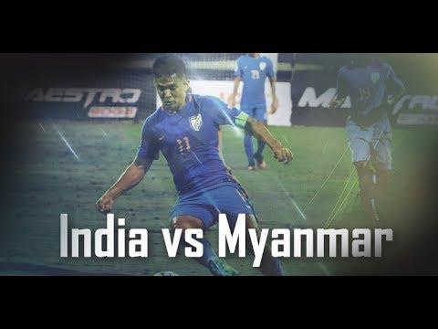 India Vs Myanmar -  Disallowed indirect freekick (IND 2-2 Myanmar)