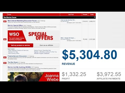 How to make a Warrior Special Offer WSO that makes money and is a daily deal sent via email