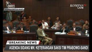 Hakim MK Minta Bukti, Tim Prabowo Minta Waktu