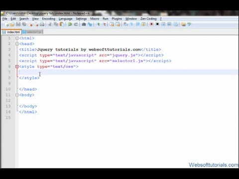 jquery tutorials for beginners - 47 - jquery find function