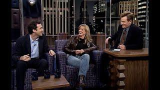 Norm Macdonald \u0026 Courtney Thorne-Smith | Late Night with Conan O'Brien