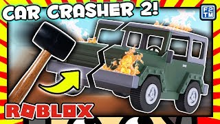 Roblox Save Lightning Mcqueen 2 Cars 3 Obby Annoying I Take A Metal Bar To Expensive Cars Lol D Roblox Car Crushers 2 2