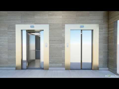 How to set automatic lift door in Lumion?