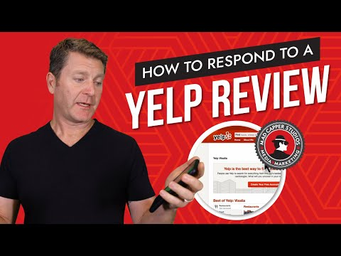 How to Respond to a Yelp Review - (818) 254-9554