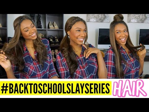 2017 BACK TO SCHOOL HAIRSTYLES | ChocHair