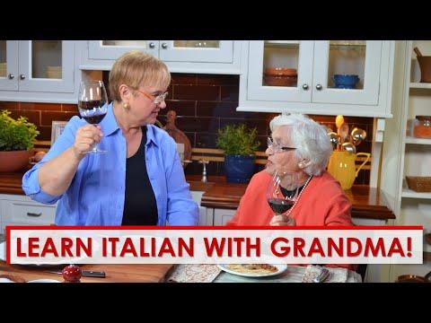 Italian Proverb with Grandma!
