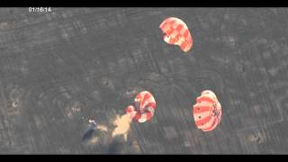 NASA Tests Orion Spacecraft Parachute Jettison Over Arizona